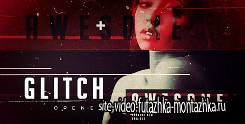 Grunge Glitch Opener - Project for After Effects (Videohive)