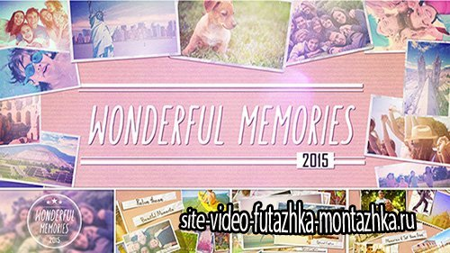 Wonderful Memories Slide Show - Project for After Effects (Videohive)