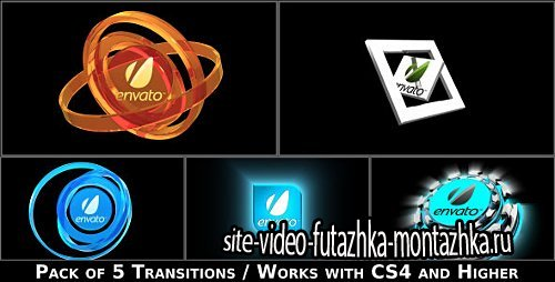 Broadcast Logo Transition Pack - Project for After Effects (Videohive)