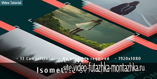 Isometric Slideshow - Project for After Effects (Videohive)