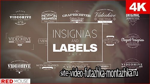 Insignias And Labels Pack - Project for After Effects (Videohive)