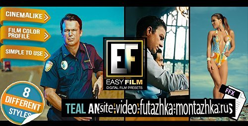 Easy Film - Professional Footage Color Presets - After Effects Add Ons (Videohive)