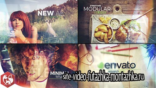 Glass Slideshow Titles - Project for After Effects (Videohive)