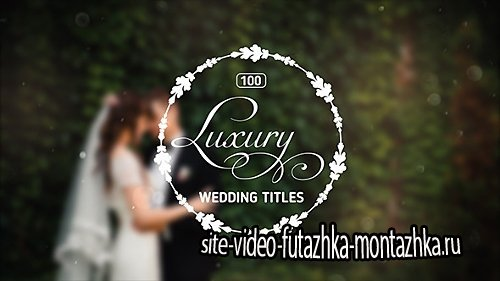 100 Luxury Wedding Titles - Project for After Effects (Videohive)