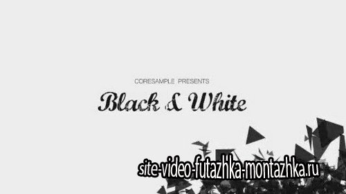 VB Black and White - Project for After Effects