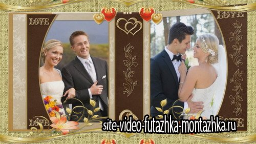 Autumn Wedding Book - Project for Proshow Producer