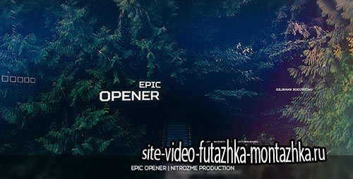 Epic Opener 16916919 - Project for After Effects (Videohive)