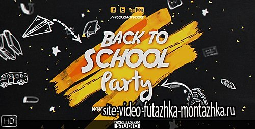 Back 2 School Event - Project for After Effects (Videohive)
