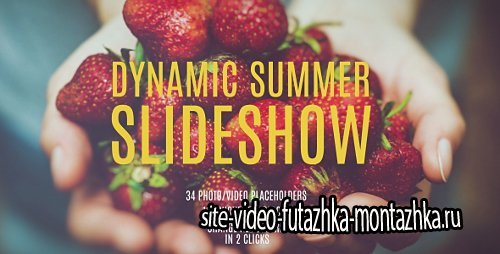 Dynamic Summer Slideshow - Project for After Effects (Videohive)