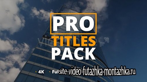 Pro Titles Pack - Project for After Effects (Videohive)
