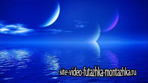 Видео футаж HD - Бриз. Рассвет.