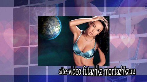 Beautiful woman in nature - Project ProShow Producer