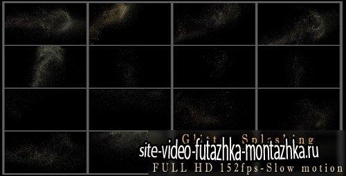 Glitter Splashing 16 Pack - Motion Graphic (Videohive)