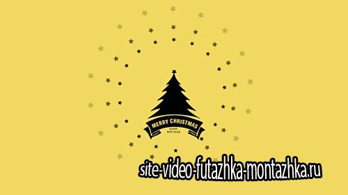 Flat Christmas and New Year Greetings - Project for After Effects (Videohive)