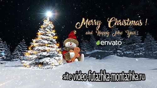 Christmas Snowman Opener - Project for After Effects (Videohive)