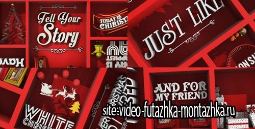 Christmas Typo Story - Project for After Effects (Videohive)
