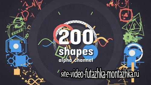 Shape Elements Pack 18599987 - Motion Graphics (Videohive)