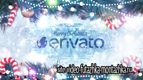 Winter Holidays Logo Reveal - Project for After Effects (Videohive)
