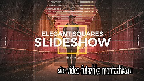 Elegant Squares Slideshow - Project for After Effects (Videohive)
