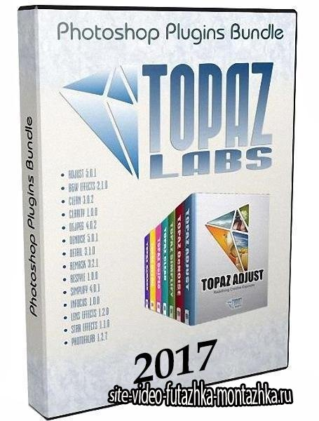 Topaz Labs Photoshop Plugins Bundle 2017 (ENG/2017)