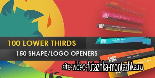 LowerThird Shape Opener - Project for After Effects (Videohive)