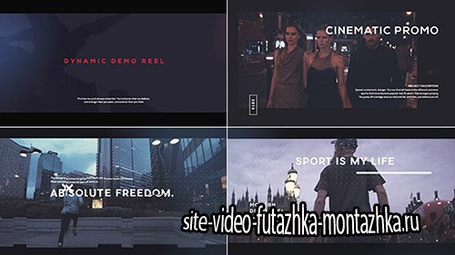 Demo Reel 19542923 - Project for After Effects (Videohive)
