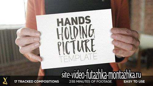 Hands Holding Pictures - Project for After Effects (Videohive)