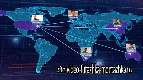 World Map 16046826 - Project for After Effects (Videohive)
