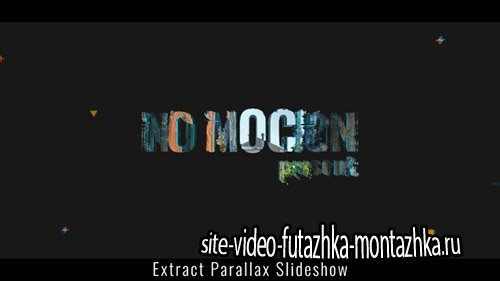 Extract Parallax Slideshow - Project for After Effects (Videohive)