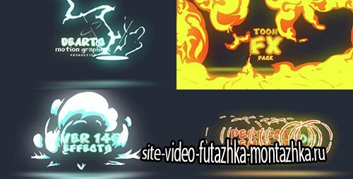 Toon FX Pack - Project for After Effects (Videohive)