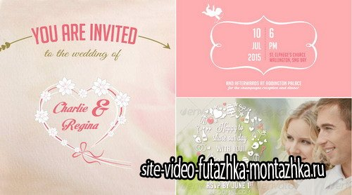 Wedding Invitation & Save the Date - Project for After Effects