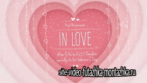 In Love - Project for After Effects (Videohive)