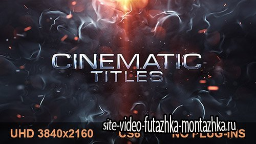 Cinematic Titles 19634339 - Project for After Effects (Videohive)