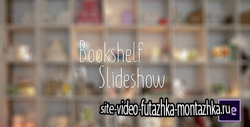 Bookshelf Slideshow - Photo Gallery - Project for After Effects (Videohive)