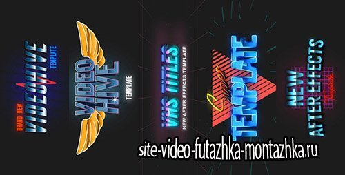 5 VHS Title Opener Pack 2 - Project for After Effects (Videohive)