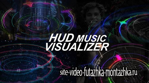 HUD Music Visualizer - Project for After Effects (Videohive)