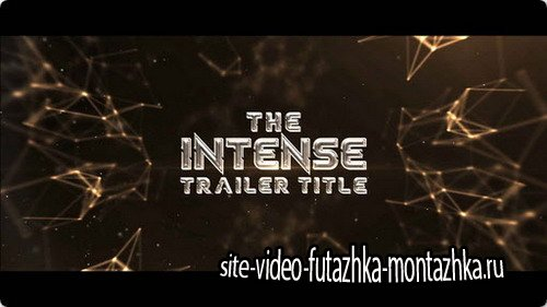 The Intense Trailer Titles - After Effects Template