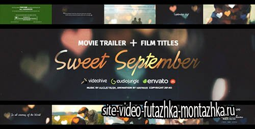 Love Story - Sweet September - Project for After Effects (Videohive)