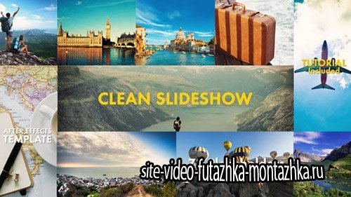Clean Slideshow - Project for After Effects (Videohive)