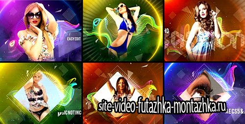Colorful Fashion Intro - Project for After Effects (Videohive)