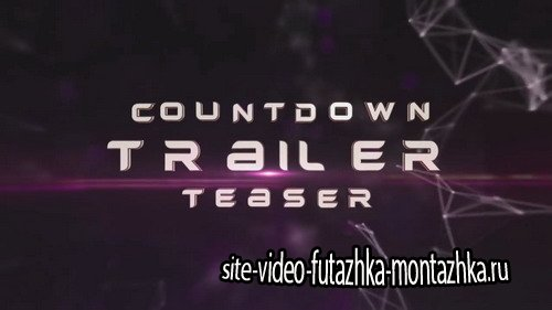 Countdown Trailer Teaser - After Effects Template