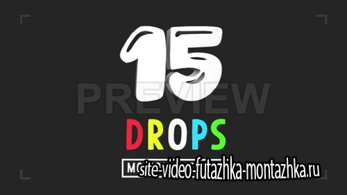 3D Drops Motion Elements Pack - Motion Graphics (Videohive)