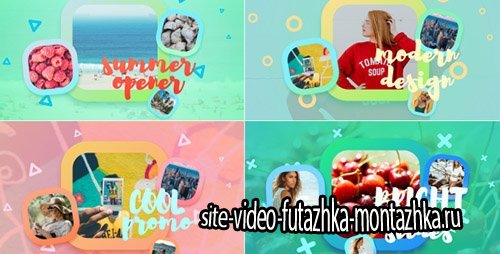 Bright Summer Slideshow - Project for After Effects (Videohive)