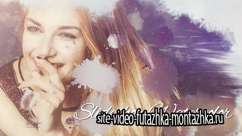 Slideshow Watercolor - Project for After Effects (Videohive)