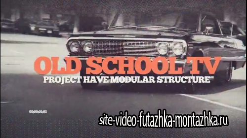 Old school TV - Project for After Effects (Videohive)