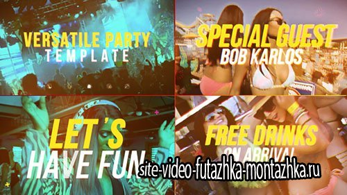 Versatile Party - Project for After Effects (Videohive)