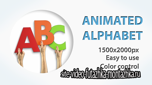 Paper Alphabet - Project for After Effects (Videohive)