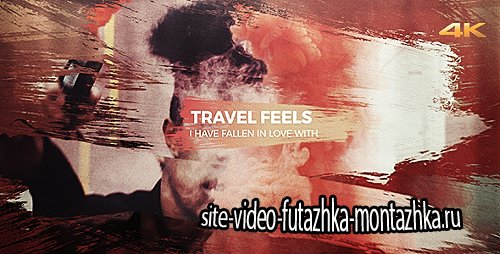 Travel Feels - Brush Slideshow - Project for After Effects (Videohive)