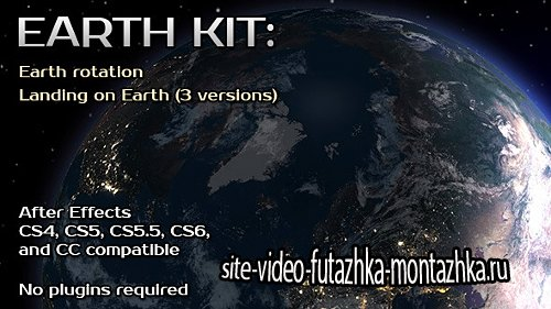 Earth Kit - Project for After Effects (Videohive)