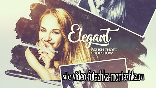 Elegant Brush Photo Slideshow - Project for After Effects (Videohive)
